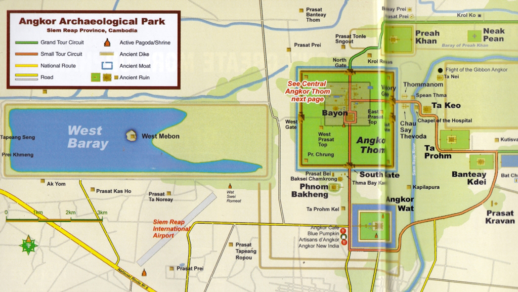 The Angkor Archaeological Park  – a popular mousetrap